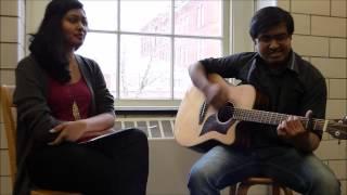 Dil Ko Tumse Pyar Hua - Duet, Guitar Cover | Anirban & Sharanya