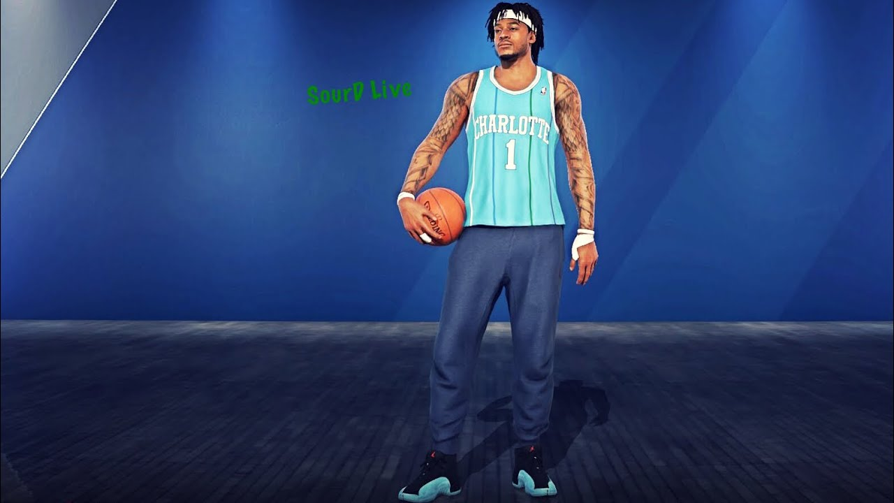 31d578e33 SourDLive Muggsy Bogues Jersey Challenge  NBALIVE18 - YouTube