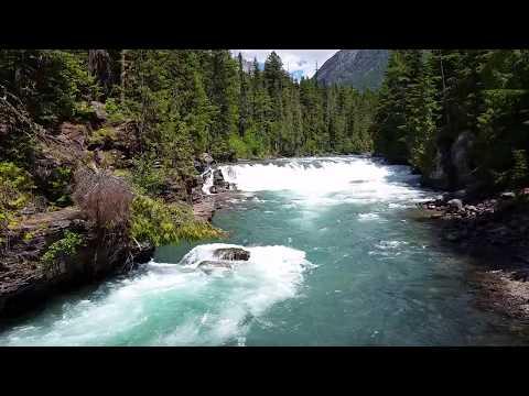McDonald Falls #1 - Glacier National Park - June 28, 2017 - Travels With Phil