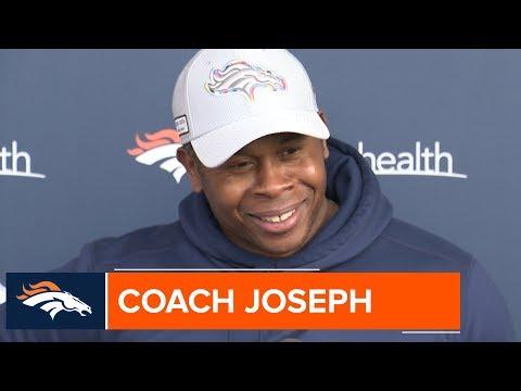 Coach Joseph: Broncos must cover 'first look' for Raiders QB Derek Carr