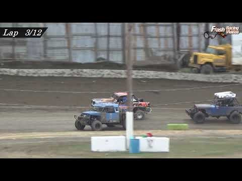 Outlaw 4x4 Truck Highlights - 4/14/19 - Grandview Speedway