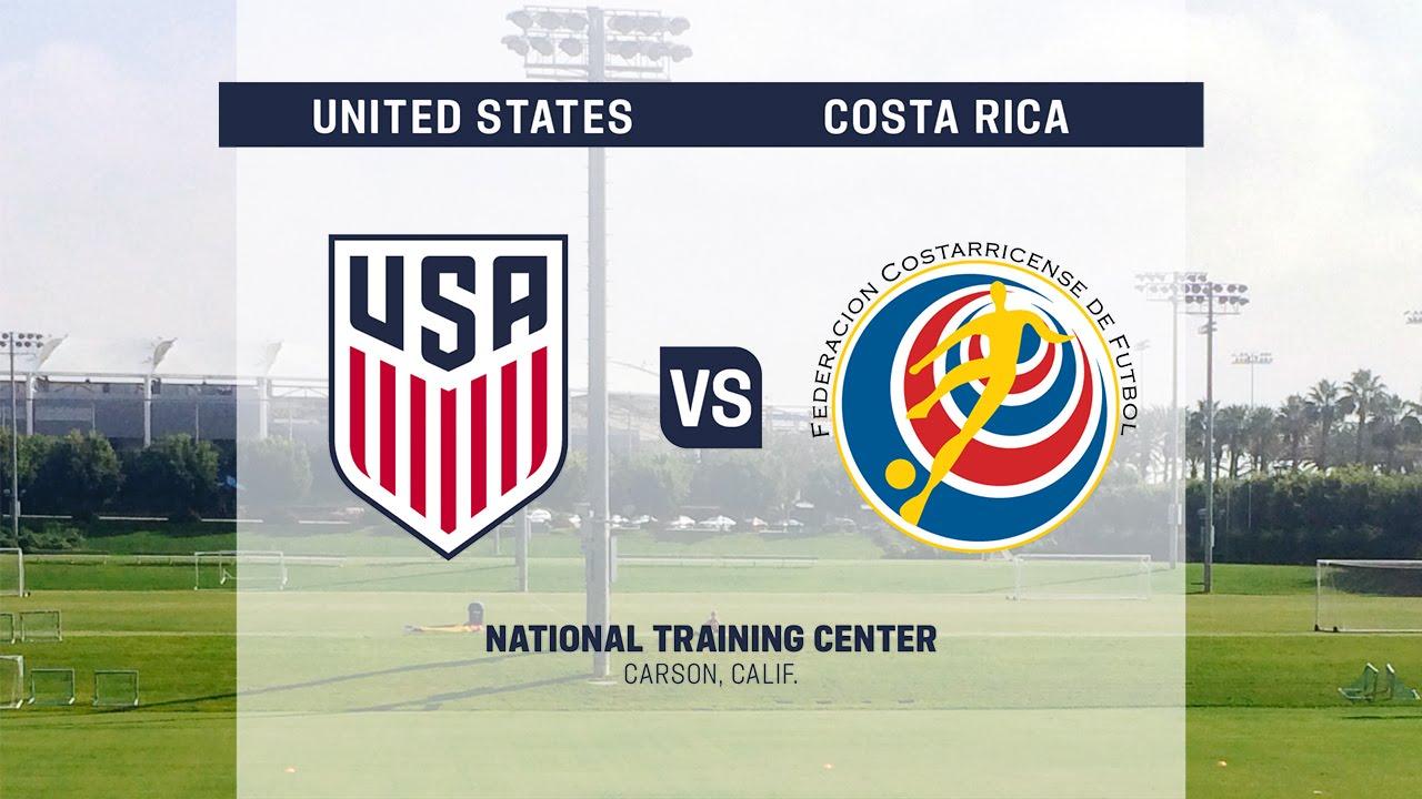 2016 U 20 Men S Ntc Invitational Usa Vs Costa Rica