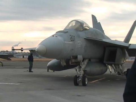 F/A-18E Super Hornet Trans Pacific Flight