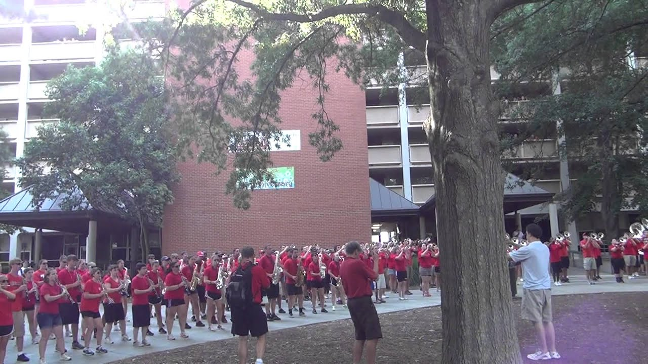 NC State Welcome Back Pack 2012- Marching Band (Fight Song/Red &  White/Apache-Jump On It)