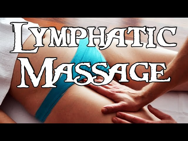 MASSAGE Lymphatic drainage - BODY DETOX #1