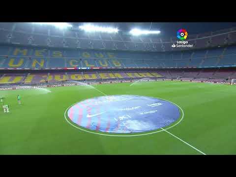 Calentamiento FC Barcelona Vs Atlético De Madrid