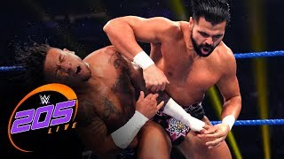 Lio Rush vs. Sunil Singh: WWE 205 Live, Jan. 17, 2020