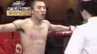 Taikwondo vs mutai