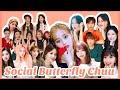 Loona Chuu's idol friends / Social Butterfly storiesJihan/Fromis9/WekiMeki/WSJN/Itzy/GIdle/JooE+ 츄