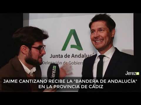 Jaime Cantizano Bandera De Andalucía 2020 En Cádiz Jerez TV