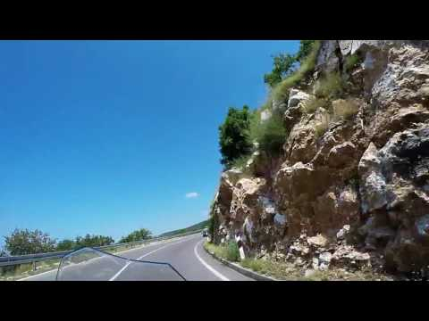 Heading inland, Croatia