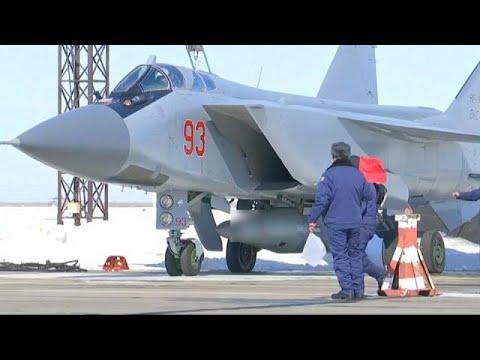 la Russie lance son nouveau missile hypersonique Kinjal