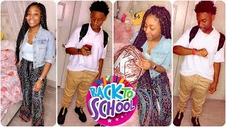 GRWM: First day of School SOPHOMORE YEAR + SON Outfit 2018