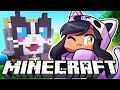 We Made A CAT BASE In Minecraft Hardcore Survival!