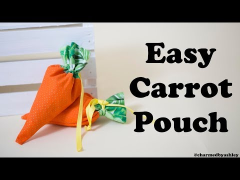 Quick Carrot Draw String Bag