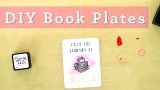 Easy DIY Book Plates