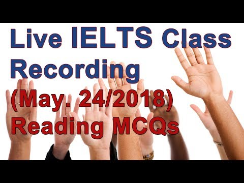 IELTS Reading and Strategy for High Scores (Sponsor Chat Only)