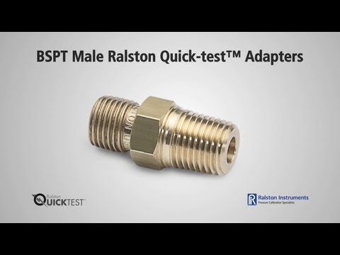 how-to-use-bspt-male-ralston-quick-test-adapters-|-ralston-instruments