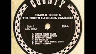 "Charlie Poole & The North Carolina Ramblers ""He Rambled"""