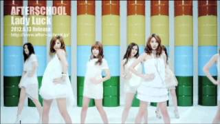 http://www.after--school.jp Japan 4th Single 「Lady Luck/Dilly Dall...