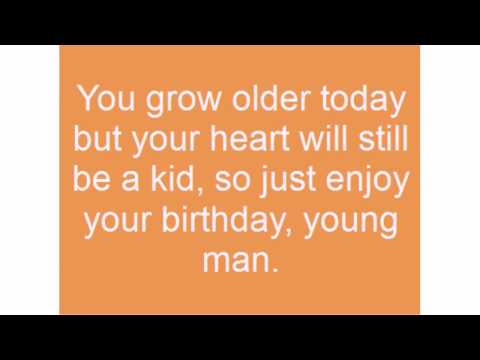 Permalink to Funny Birthday Quotes For Young Man