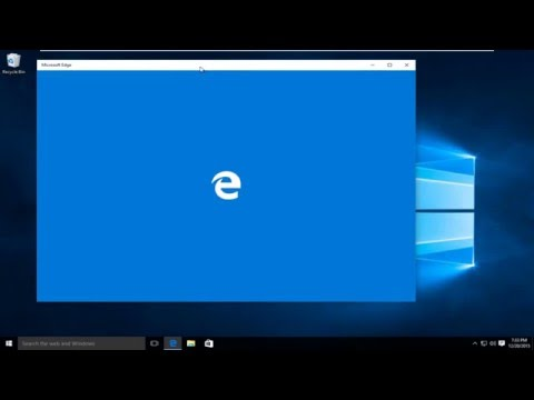 How To Repair Microsoft Edge In Windows 10