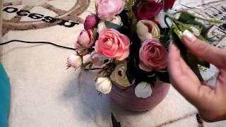 букет из цветов в английском стиле/ Bouquet of flowers in English style