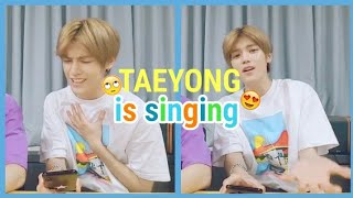 Taeyong is Singing