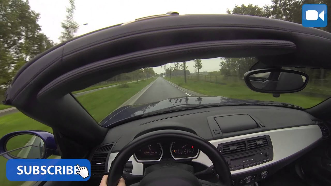 Pov Bmw Z4m Roadster Great Onboard Drive Acceleration Youtube