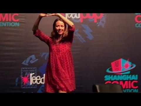Amy Acker - Shanghai Comic Con 2016 - full interview