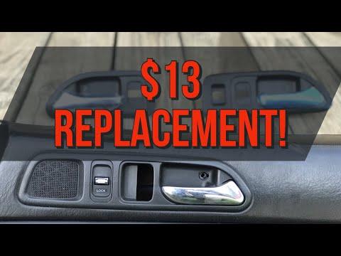 How To Fix Honda Prelude Interior Handles!