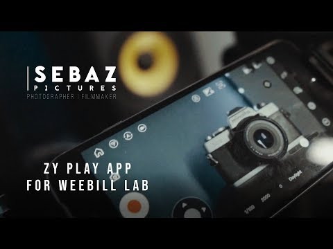 ZY Play app for Weebill Lab and Crane 3 Lab