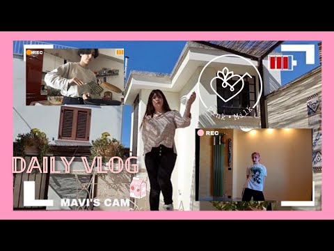 (ENG SUB) [Daily Vlog]  One Day In Our Life During Quarantine! |PinkMilk|