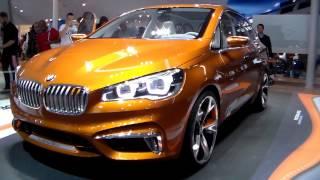 BMW Active Tourer Outdoor Concept 2013 Videos