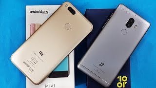 10.or G vs Mi A1 SpeedTest | 10.or G/Tenor G vs Mi A1 Comparison