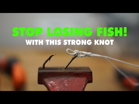 Stop Losing Fish! How To Tie Fishing Berkley Braid - Best Knot For Fishing #4