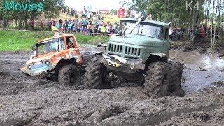 4x4 Off-Road Trucks | Mud obstacle | Klaperjaht 2017