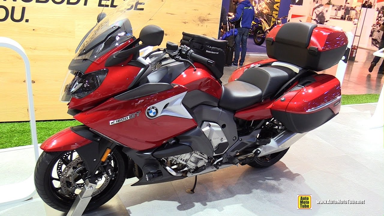 2017 BMW K1600 GT - Walkaround - 2016 EICMA Milan - YouTube