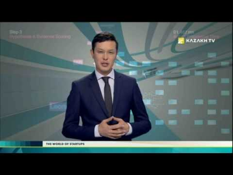 The world of startups №50 (11.02.2017) - Kazakh TV