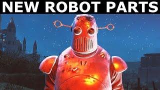Fallout 4 Nuka World - All New Robot Parts (Galactron, Space Sentry, Nukatron, Nuka Mascot)