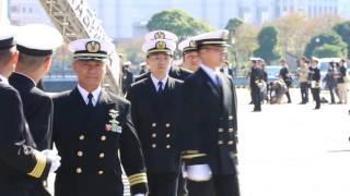 [20161104]海上自衛隊練習艦隊x02帰国式典