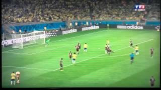1-7 Brésil-Allemagne coupe du monde 2014