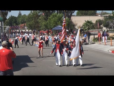 Beckman HS - The Loyal Legion - 2017 Duarte Route 66 Parade