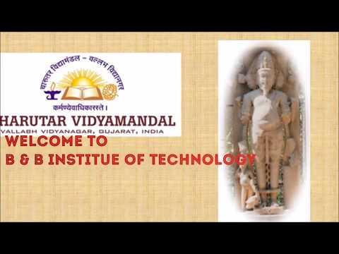 B & B Institute of Technology, V.V. Nagar