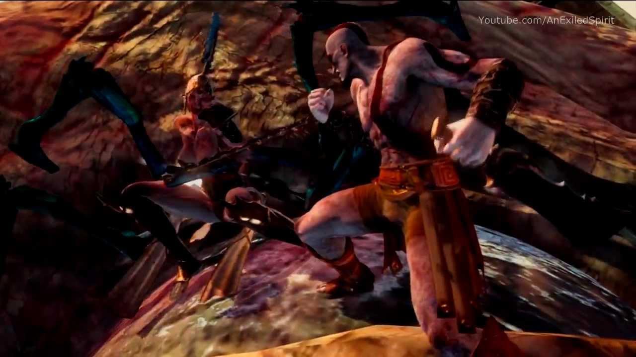 god of war ascension death of megaera amp the titan