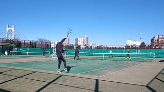 豊住庭球場20181215 KH VS  HK №1 thumbnail
