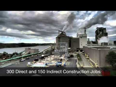 Irving Pulp & Paper Mill Modernization Update
