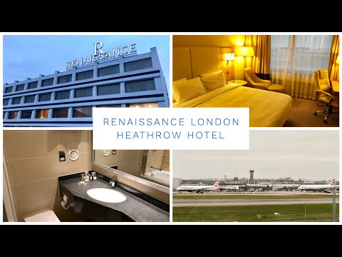 Renaissance London Heathrow Hotel - Superior Runway Room & Hotel Tour - Heathrow Airport