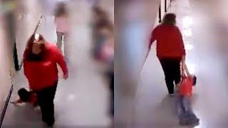 USA, maestra trascina bambino autistico per i corridoi della scuola. Il video indigna il mondo