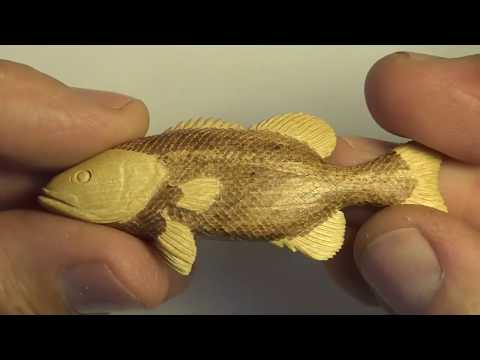 How To Carve A Fish Pendant From Wood
